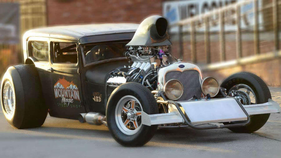 Auto custom rat rods