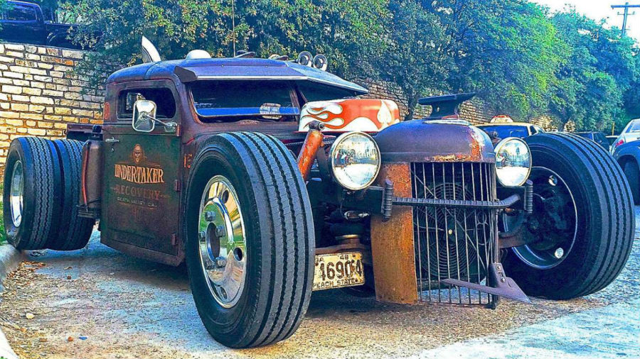 Hot Rods custom car
